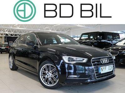 begagnad Audi A3 2.0 TDI QUATTRO EU6 AUT VECKANS BIL 2014, Halvkombi 194 900 kr