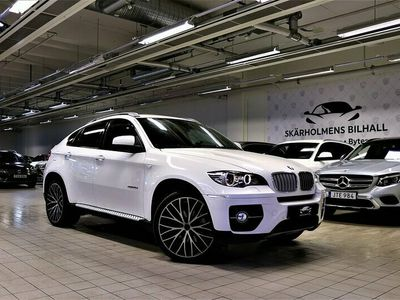 begagnad BMW X6 X-DRIVE 40d MAXUTRU 5-SITS SOFTCLOSE TAKLUCKA