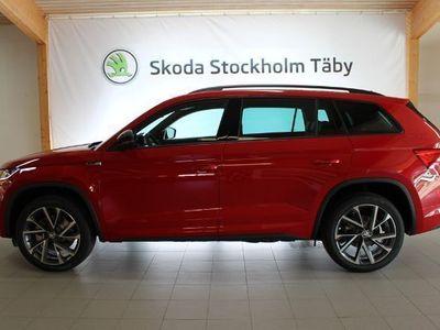begagnad Skoda Kodiaq Sportline TDi 190 4X4 DSG