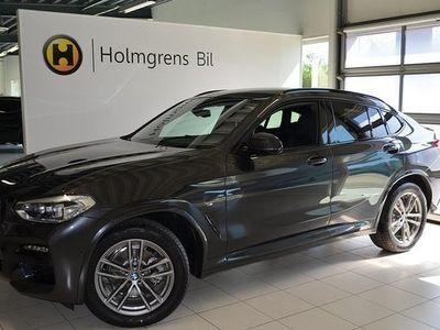 begagnad BMW X4 xDrive20d M Sport Navi Värmare Drag HiFi Backkamera 2020, SUV 569 800 kr