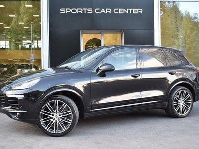 begagnad Porsche Cayenne PLATINUM BOSE SPORT CHRONO