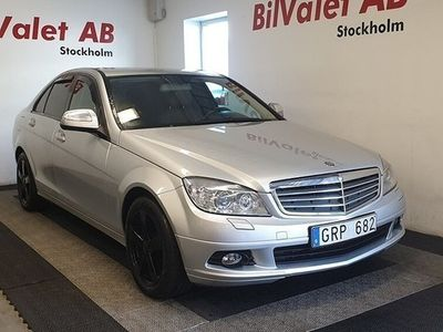 brugt Mercedes 200 C-KlassCDI 5G-Tronic 136hk Nybes
