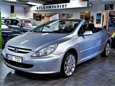 begagnad Peugeot 307 CC Cabriolet 2.0 140hk,Servad,Bes,Lågmil
