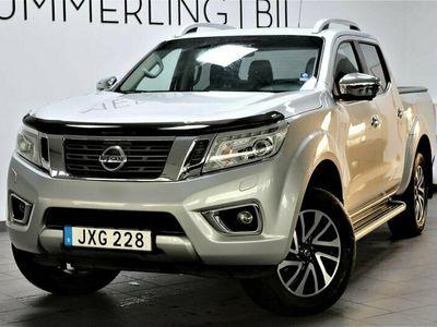 begagnad Nissan Navara 2.3 dCi 4WD Aut 190hk Läder/GPS/Drag/Taklucka