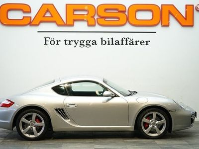 begagnad Porsche Cayman S 3.4 295HK Svensksåld 7500mil