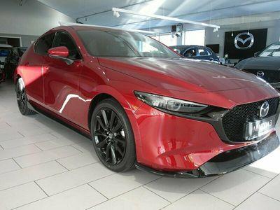 begagnad Mazda 3 Techpack 2.0 SKYACTIV-X (180hk) AT6 Spoilerkit !