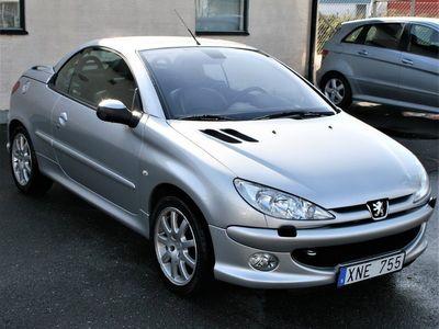 begagnad Peugeot 206 CC 1.6 109hk 8150 Mil