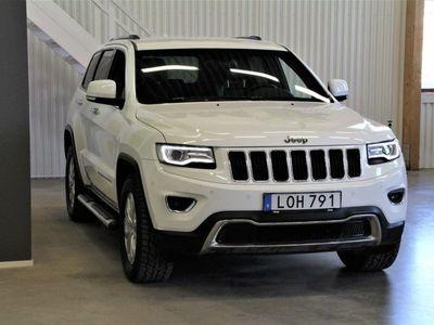 brugt Jeep Grand Cherokee 3.0 V6 250hk Limited 4WD Aut Sidesteps/Mult.me