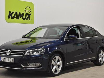 begagnad VW Passat 2.0 TDI Premium Drag Skinn (170hk)