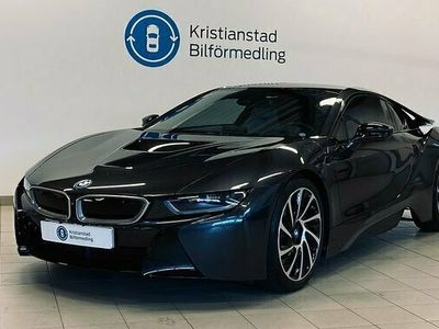 begagnad BMW i8 Steptronic Sophistogrå, Harman Kardon, Nav 2016, Sportkupé Pris 839 900 kr