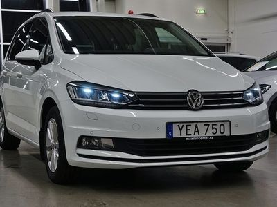 begagnad VW Touran 1.6 TDI BMT 7-sits Drag 110hk !