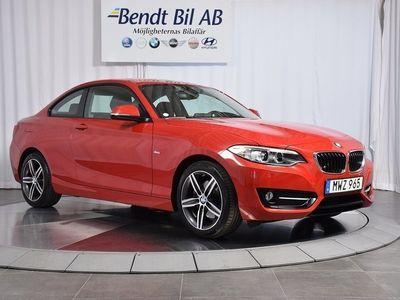 begagnad BMW 220 i Coupé AUT Model Sport 2016, Personbil 269 000 kr