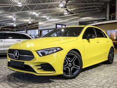 begagnad Mercedes A180 Aut // AMG Line & Night Pack //
