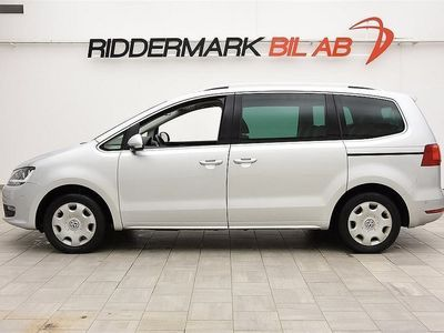 begagnad VW Sharan 2.0TDI AUT,7-SITS,NAVI,PANORAMA,NYSERV