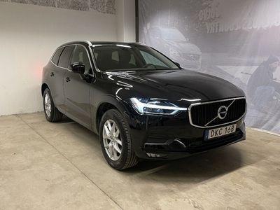 begagnad Volvo XC60 D4 AWD Momentum Advanced SE, ader, On Call, Parkeringssensor Fram Bak Kamera, Navigation, Intellisafe Assist 2019, SUV 379 900 kr