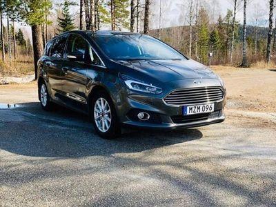 begagnad Ford S-MAX 2.0 TDCi aut 7 pl nav S & V hjul