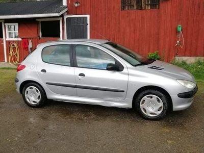 begagnad Peugeot 206 1,4 5-dörrar XR