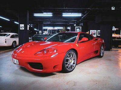 begagnad Ferrari 360 Modena 3.6 V8 400hk