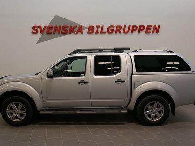 gebraucht Nissan Navara 3.0 DCi V6 Doublecab Aut Drag Läder LM S+V-Hjul