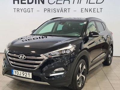 begagnad Hyundai Tucson 1.6 T-GDI 4WD PREMIUM 2018, SUV 209 900 kr