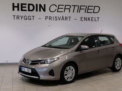 begagnad Toyota Auris 1.4 D-4D Manuell, 90hk, 2013