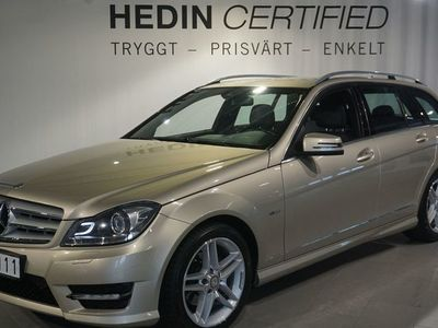 begagnad Mercedes C180 T BlueEFFICIENCY Manuell 156hk *AMG-paket *Navi *Drag