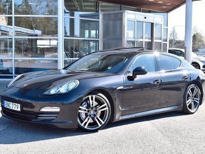 begagnad Porsche Panamera 4S 400HK TAKLUCKA BOSE