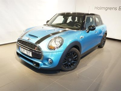 begagnad Mini Cooper S 5d Pepper JCW Interiör