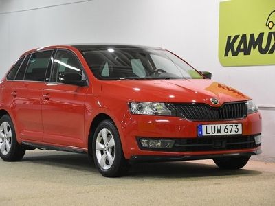 begagnad Skoda Rapid 1.2 TSI Spaceback | Monte Carlo | Carplay | S&V-Hjul | 110hk