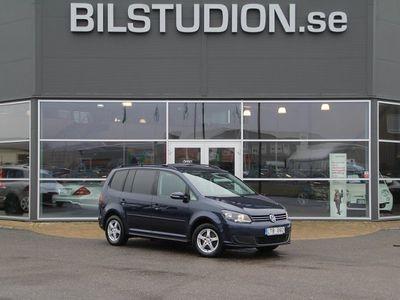 begagnad VW Touran 1.6 TDI,DSG,7-sits,Svensksåld