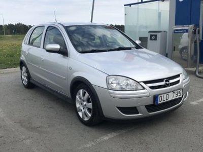 begagnad Opel Corsa 5D 1.2 Twinport Silver -06