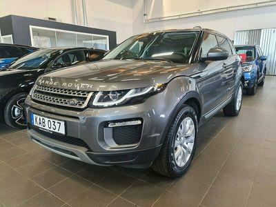 begagnad Land Rover Range Rover evoque 2,0 TD4 4WD 150hk Aut / SE