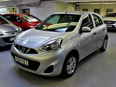begagnad Nissan Micra 1.2 AUTOMAT 2014, Halvkombi 69 900 kr