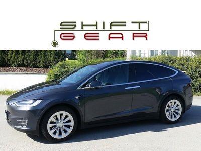 begagnad Tesla Model X 75D 6-sits *Luftfjädr Drag AP2*
