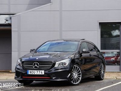 begagnad Mercedes CLA250 Shooting Brake Sport 4M 211hk SB AMG Panorama