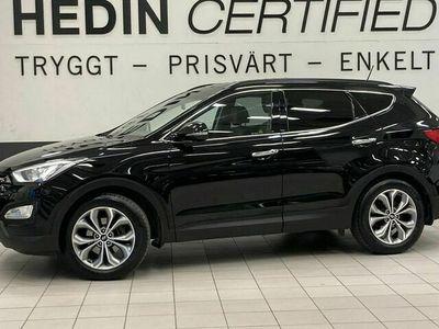 begagnad Hyundai Santa Fe 2.2 CRDi (197HK) 4WD, DRAG, BACKKAMERA