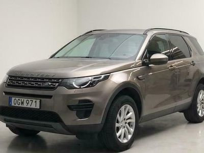 begagnad Land Rover Discovery Sport 2.0 TD4 AWD 2017, SUV Pris 266 500 kr