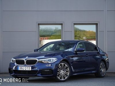 begagnad BMW 530 e iPerformance Sedan Plug-In Hybrid Seda M Sport H/K GPS