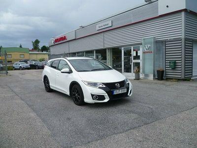 begagnad Honda Civic Tourer 1,6 ELEGANCE NAVI Euro 6 120hk