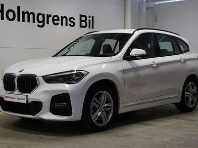begagnad BMW X1 20d / xDrive / M-sport / V-Hjul ingår / Navi / HIFI / Drag / Hea