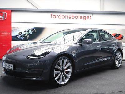 begagnad Tesla Model 3 AWD Performance FSD 460HK
