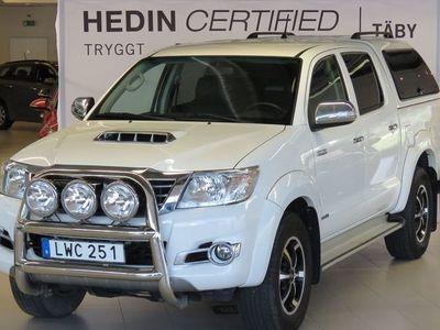 brugt Toyota HiLux 3.0 D-4D 4WD Invicible Dubbelhytt