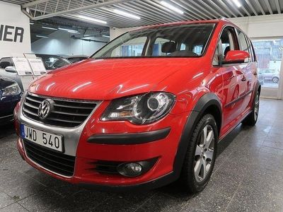 begagnad VW Touran Cross 2.0 TDI / Automat / 7