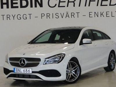begagnad Mercedes CLA220 SB AMG Panorama Värmare Drag Premium