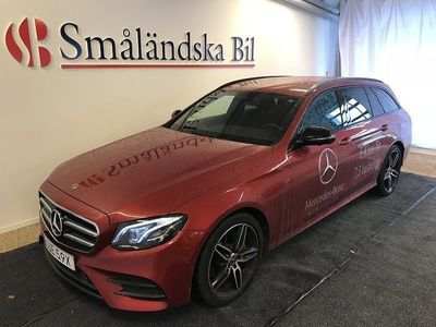 gebraucht Mercedes E200 AMG, Premium, Night, Värmare, Drag, Burmester