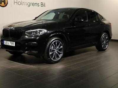 "begagnad BMW X4 xDrive 20d M Sport Navi Vinterpaket 20"" Drag HiFi"