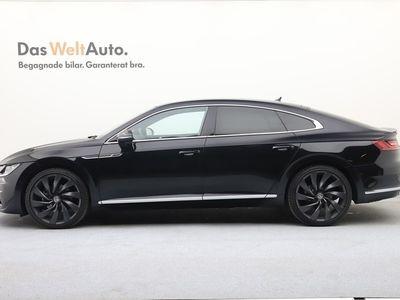 begagnad VW Arteon TDI 190 GT R-LINE/Dynaudio/Nav/DCC/Drag/Värmare/Ex