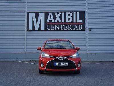 begagnad Toyota Yaris 5-dörrar 1.33 Dual VVT-i Euro 6 99hk