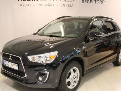 gebraucht Mitsubishi ASX 1,8D 116HK 4WD BUSINESS PANORAMA S+V-HJUL