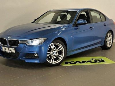 begagnad BMW 320 d M-sport   Webasto   Drag  